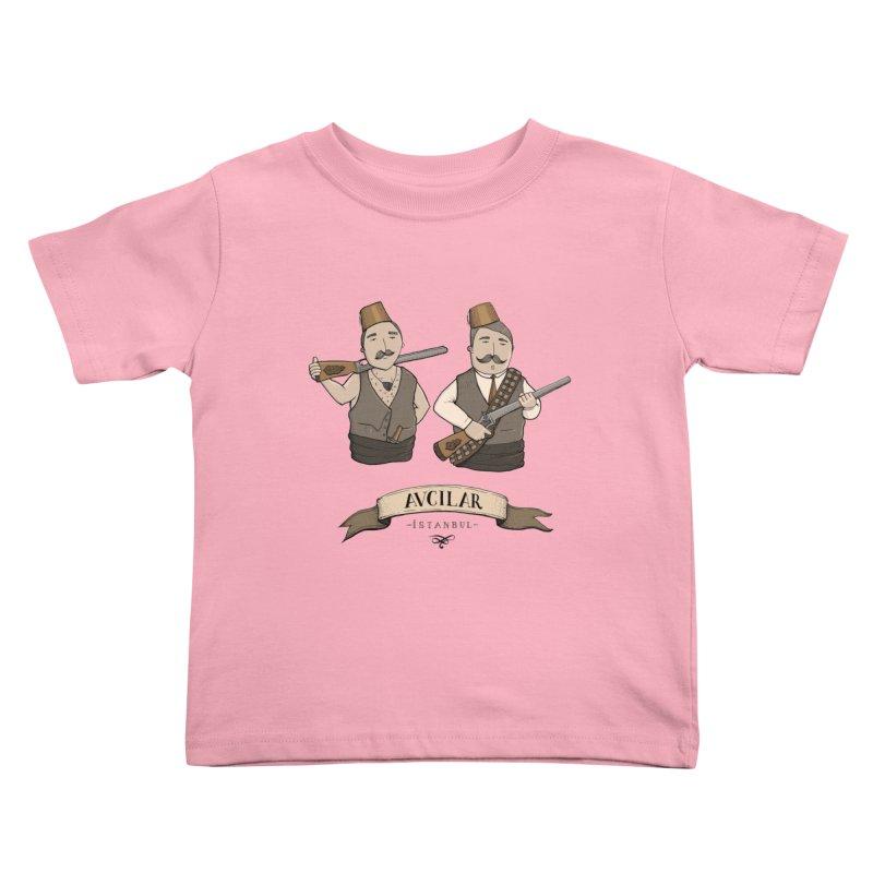 Avcilar, Istanbul Kids Toddler T-Shirt by Kürşat Ünsal's Artist Shop