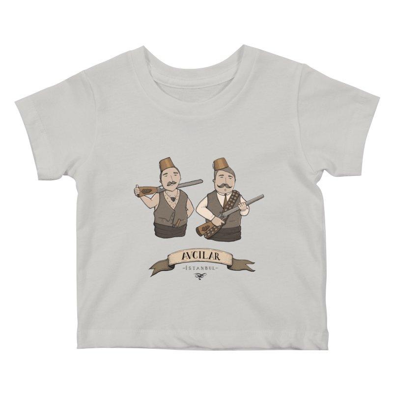 Avcilar, Istanbul Kids Baby T-Shirt by Kürşat Ünsal's Artist Shop