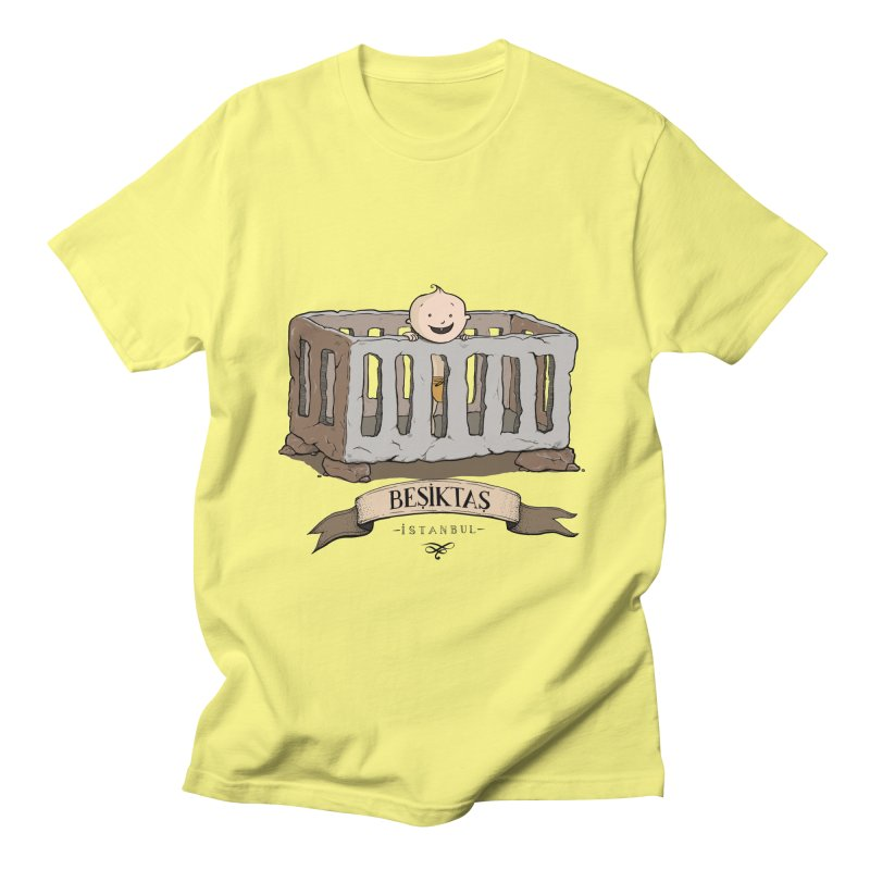 Besiktas, Istanbul Men's T-shirt by Kürşat Ünsal's Artist Shop
