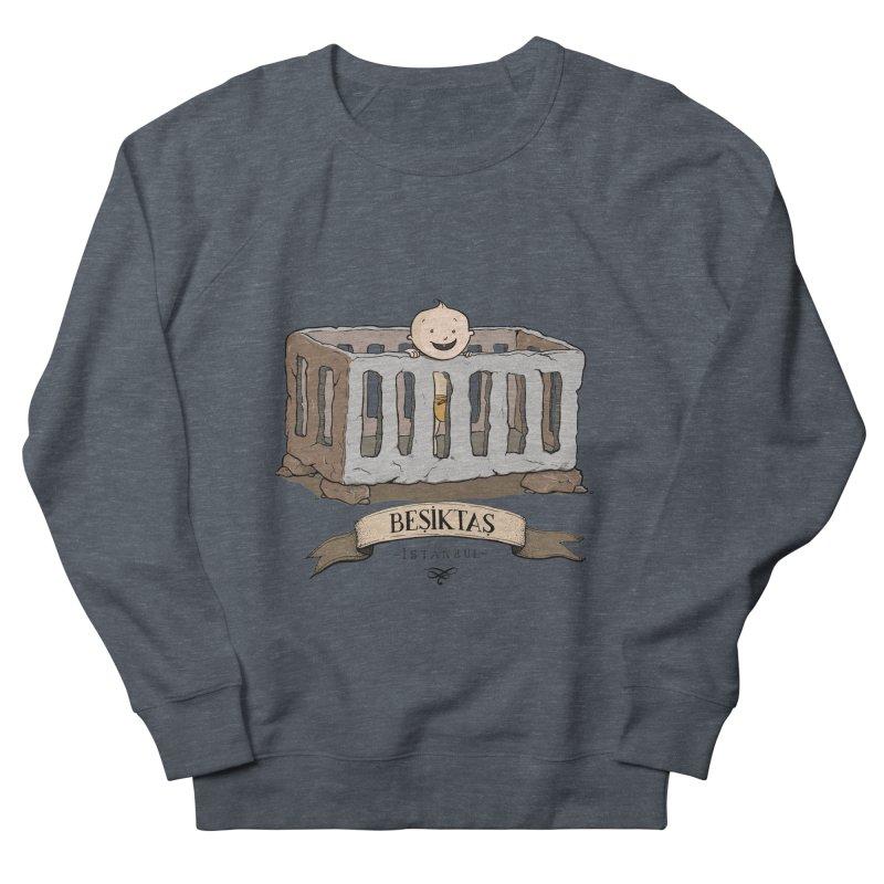 Besiktas, Istanbul Men's Sweatshirt by Kürşat Ünsal's Artist Shop