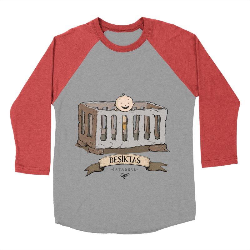Besiktas, Istanbul Women's Baseball Triblend T-Shirt by Kürşat Ünsal's Artist Shop
