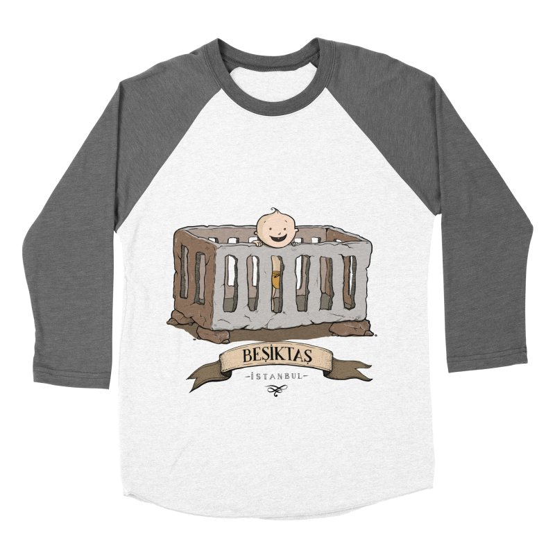 Besiktas, Istanbul Men's Baseball Triblend T-Shirt by Kürşat Ünsal's Artist Shop