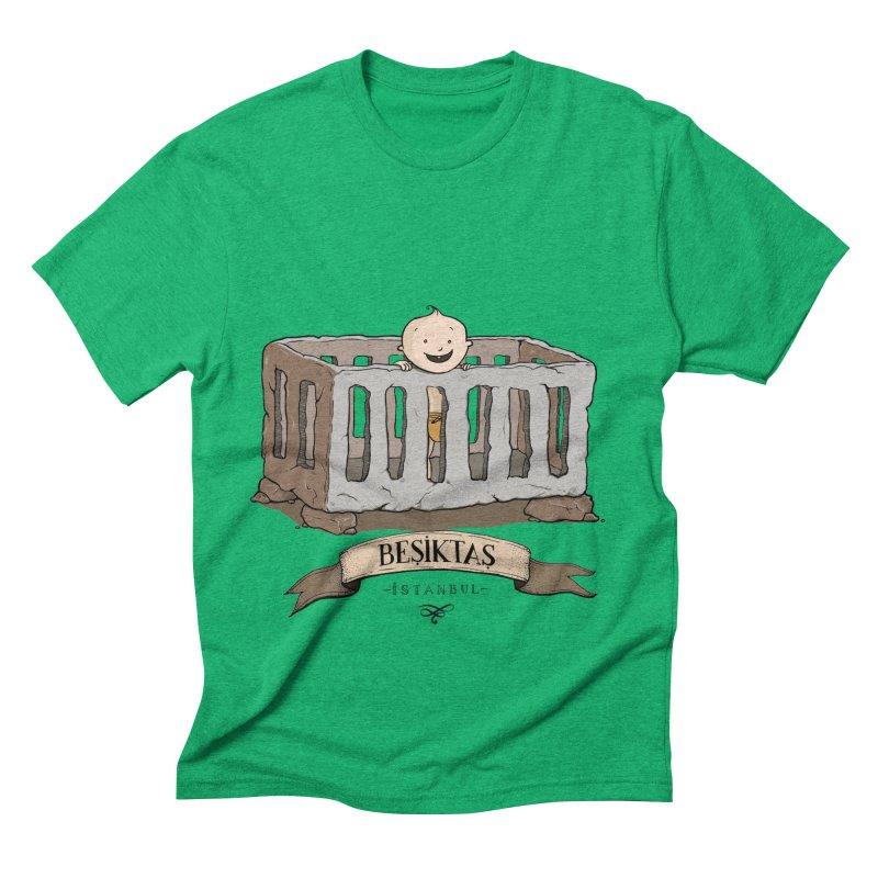 Besiktas, Istanbul Men's Triblend T-shirt by Kürşat Ünsal's Artist Shop