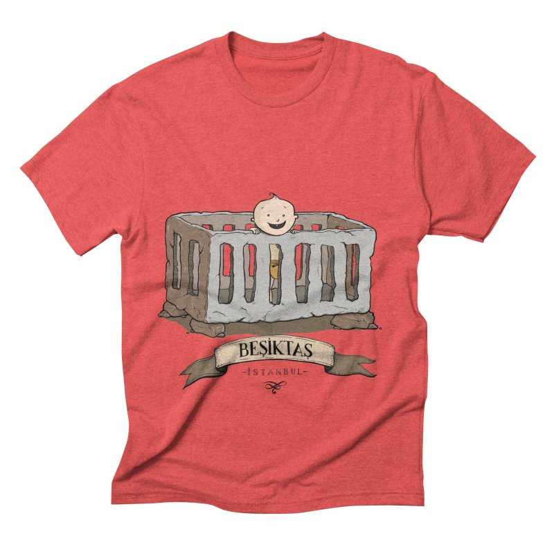 Besiktas, Istanbul Men's Triblend T-shirt by Kürşat Ünsal's Artist Shop