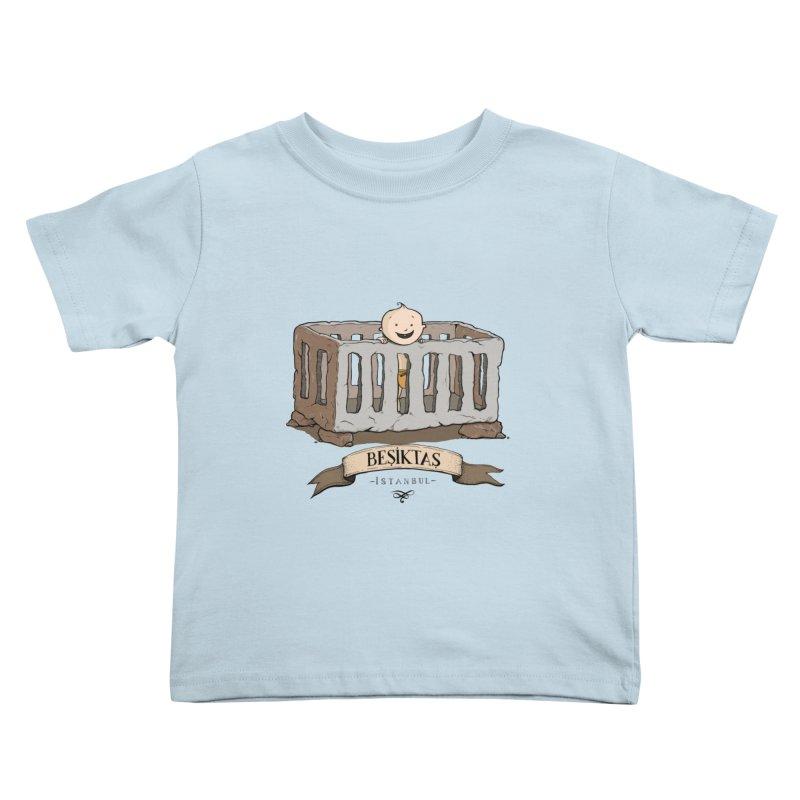 Besiktas, Istanbul Kids Toddler T-Shirt by Kürşat Ünsal's Artist Shop