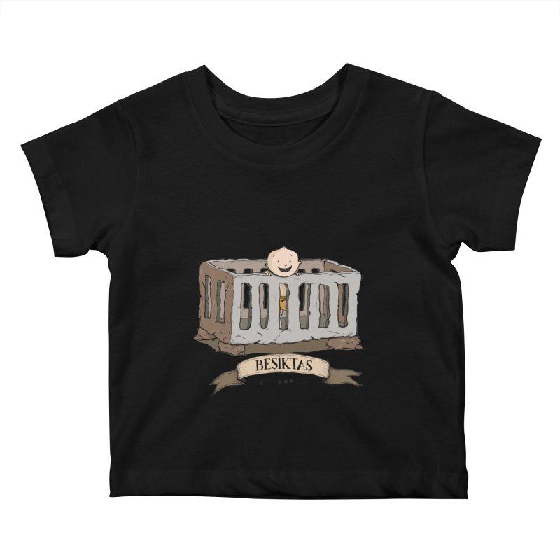 Besiktas, Istanbul Kids Baby T-Shirt by Kürşat Ünsal's Artist Shop