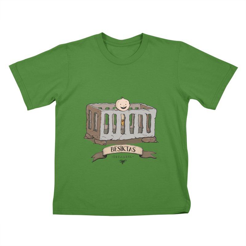 Besiktas, Istanbul Kids T-Shirt by Kürşat Ünsal's Artist Shop