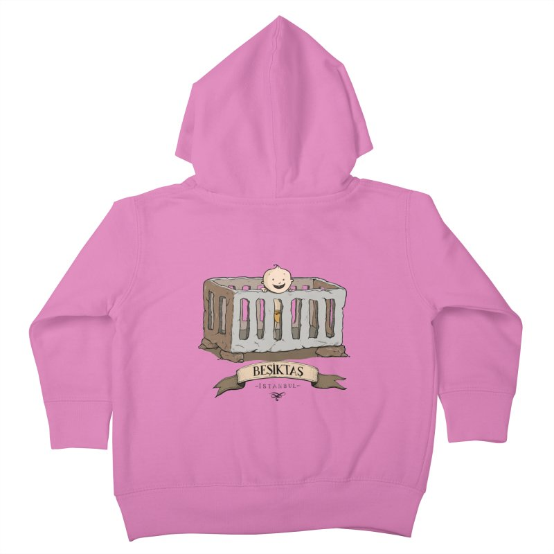 Besiktas, Istanbul Kids Toddler Zip-Up Hoody by Kürşat Ünsal's Artist Shop