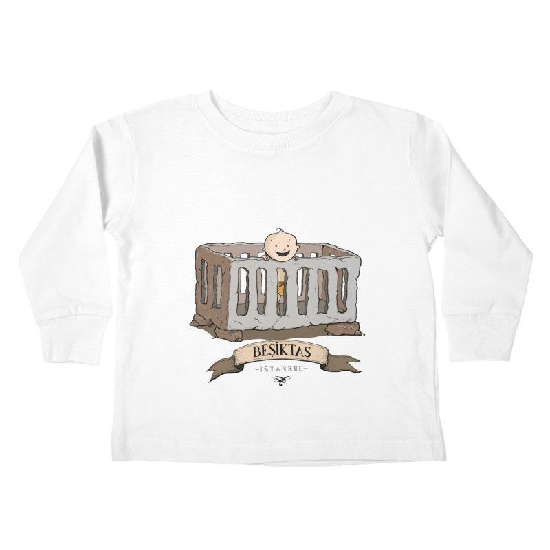 Besiktas, Istanbul Kids Toddler Longsleeve T-Shirt by Kürşat Ünsal's Artist Shop