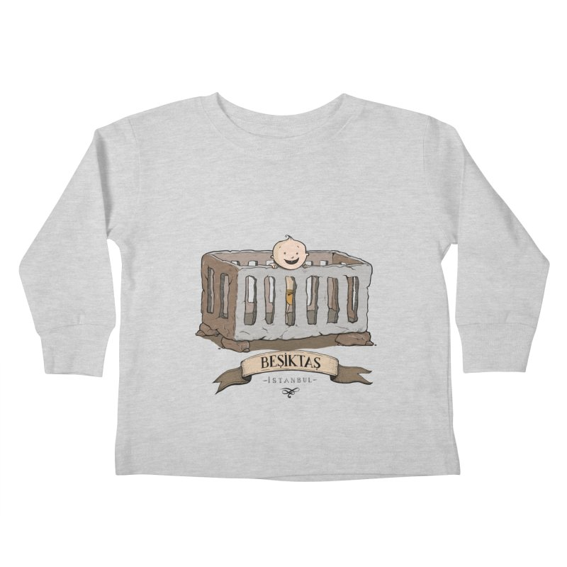Besiktas, Istanbul Kids Toddler Longsleeve T-Shirt by Kürşat Ünsal's Artist Shop
