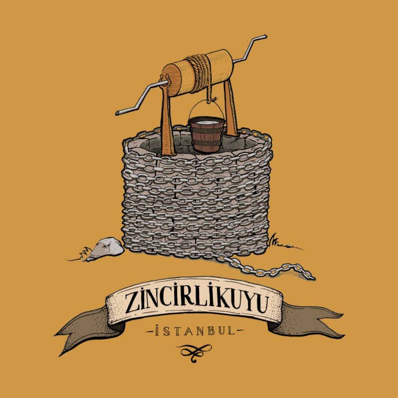 Zincirlikuyu, Istanbul None  by Kürşat Ünsal's Artist Shop
