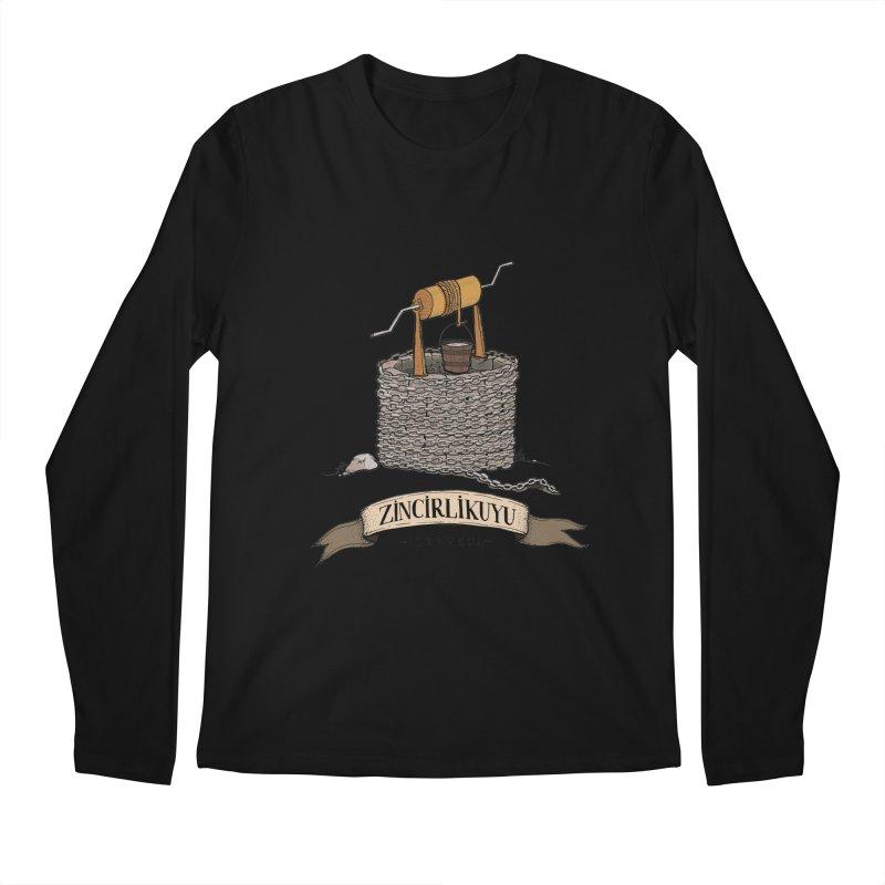Zincirlikuyu, Istanbul Men's Longsleeve T-Shirt by Kürşat Ünsal's Artist Shop