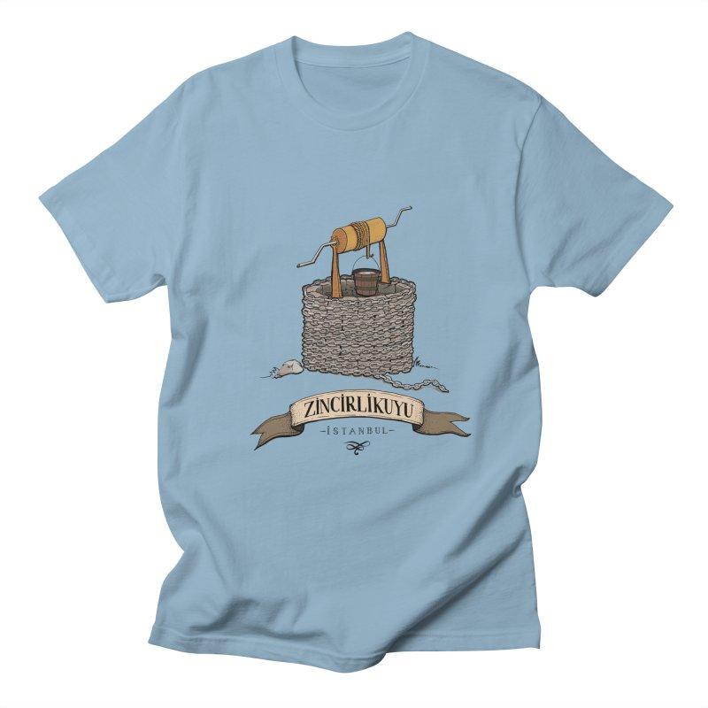 Zincirlikuyu, Istanbul Men's T-shirt by Kürşat Ünsal's Artist Shop