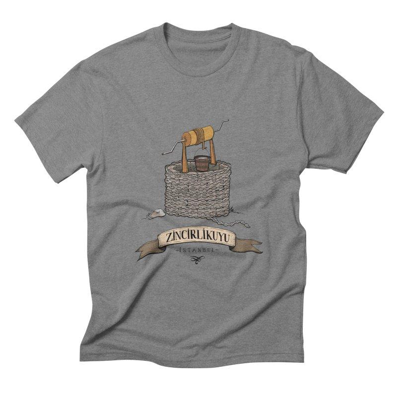 Zincirlikuyu, Istanbul Men's Triblend T-Shirt by Kürşat Ünsal's Artist Shop