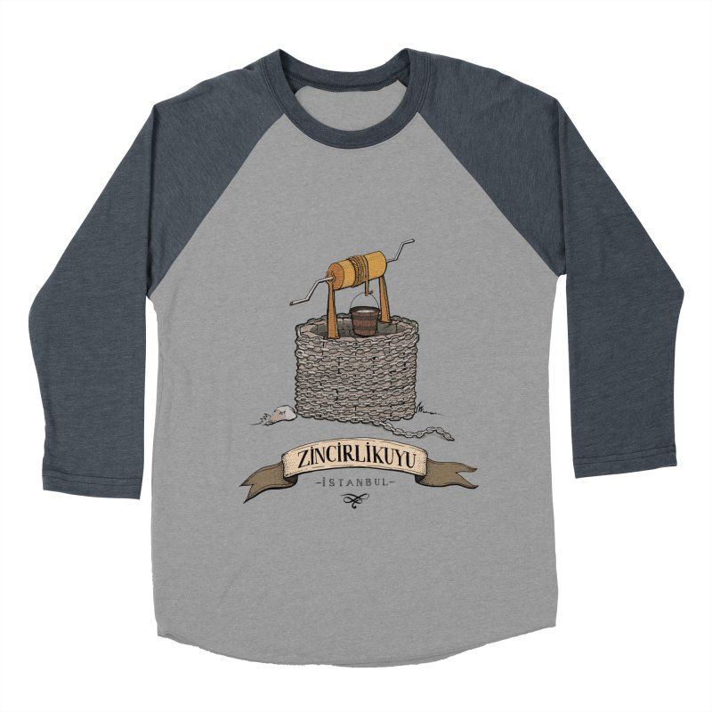 Zincirlikuyu, Istanbul Women's Baseball Triblend T-Shirt by Kürşat Ünsal's Artist Shop