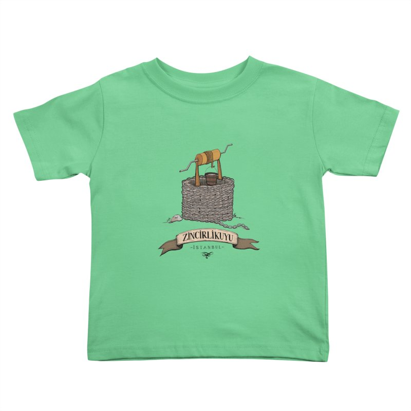 Zincirlikuyu, Istanbul Kids Toddler T-Shirt by Kürşat Ünsal's Artist Shop