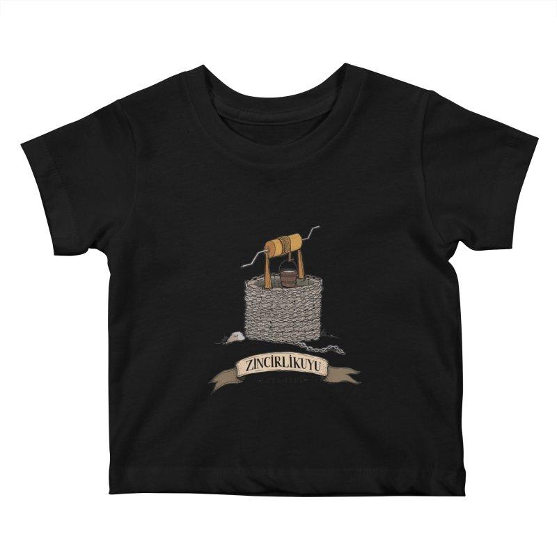 Zincirlikuyu, Istanbul Kids Baby T-Shirt by Kürşat Ünsal's Artist Shop