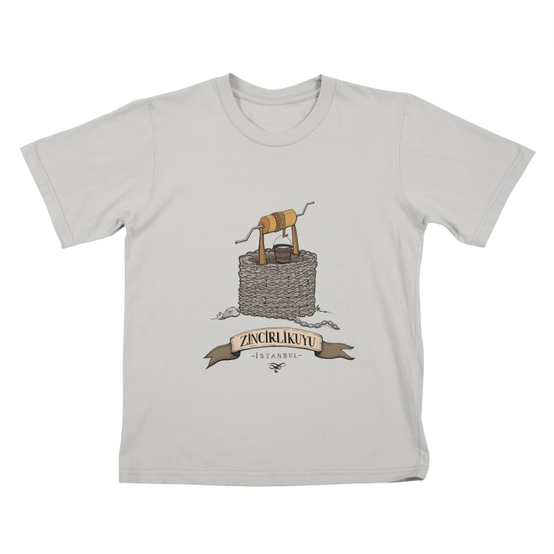 Zincirlikuyu, Istanbul Kids T-shirt by Kürşat Ünsal's Artist Shop