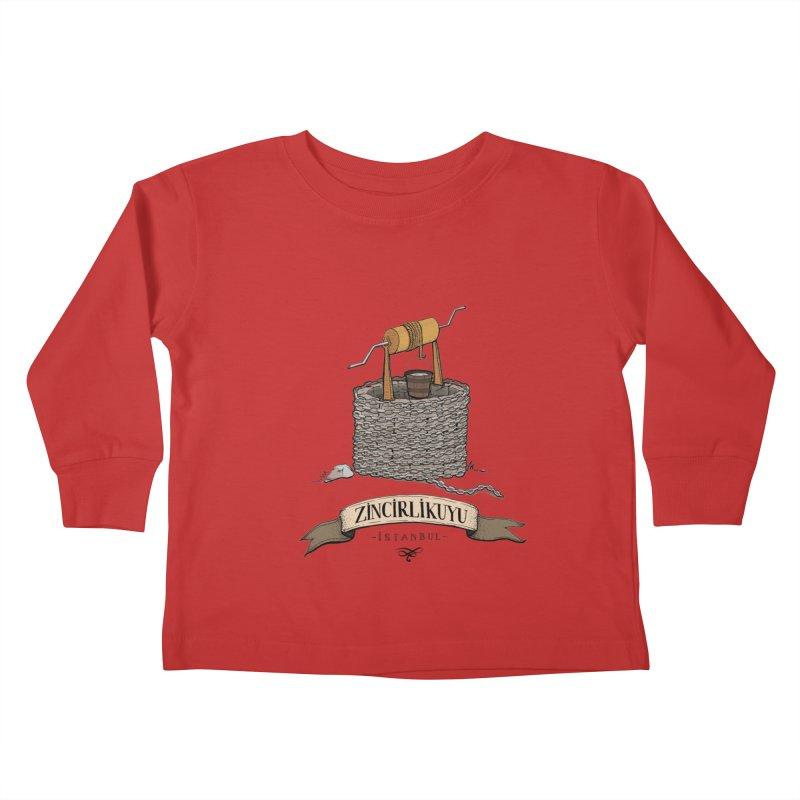 Zincirlikuyu, Istanbul Kids Toddler Longsleeve T-Shirt by Kürşat Ünsal's Artist Shop