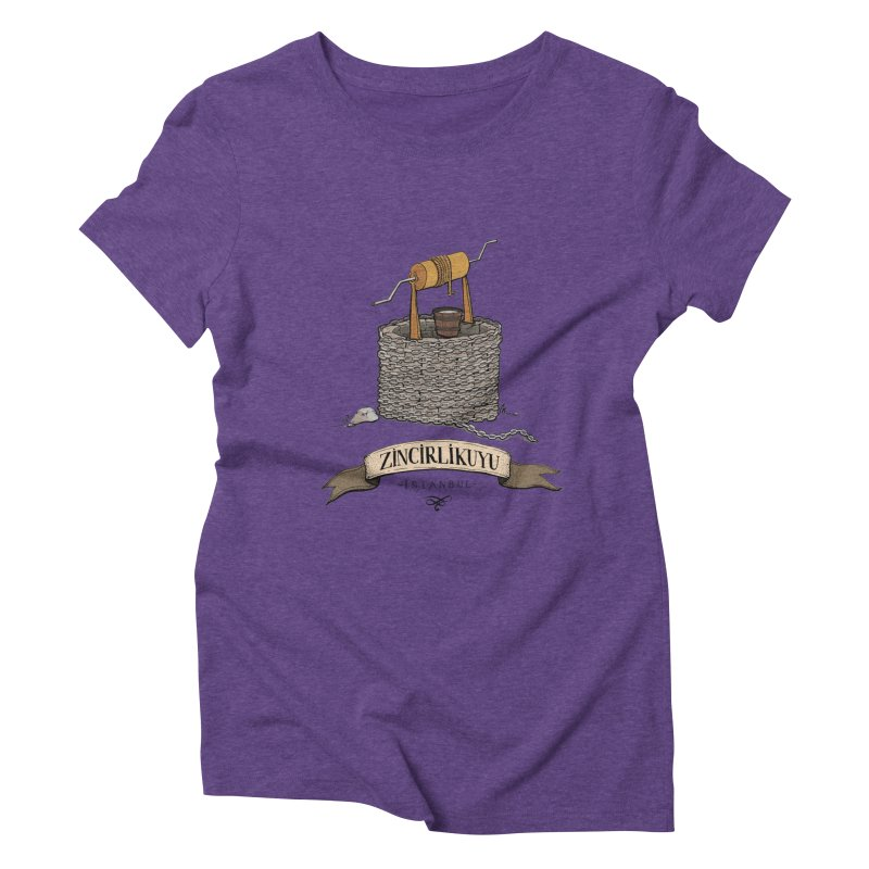 Zincirlikuyu, Istanbul Women's Triblend T-shirt by Kürşat Ünsal's Artist Shop