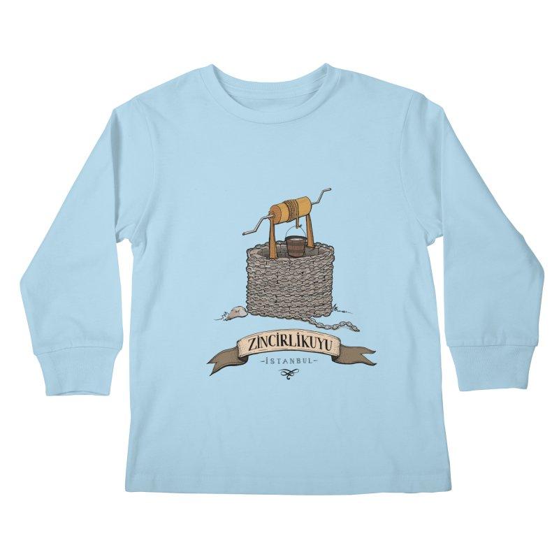 Zincirlikuyu, Istanbul Kids Longsleeve T-Shirt by Kürşat Ünsal's Artist Shop