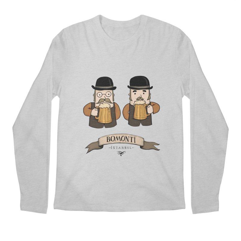 Bomonti, Istanbul Men's Longsleeve T-Shirt by Kürşat Ünsal's Artist Shop