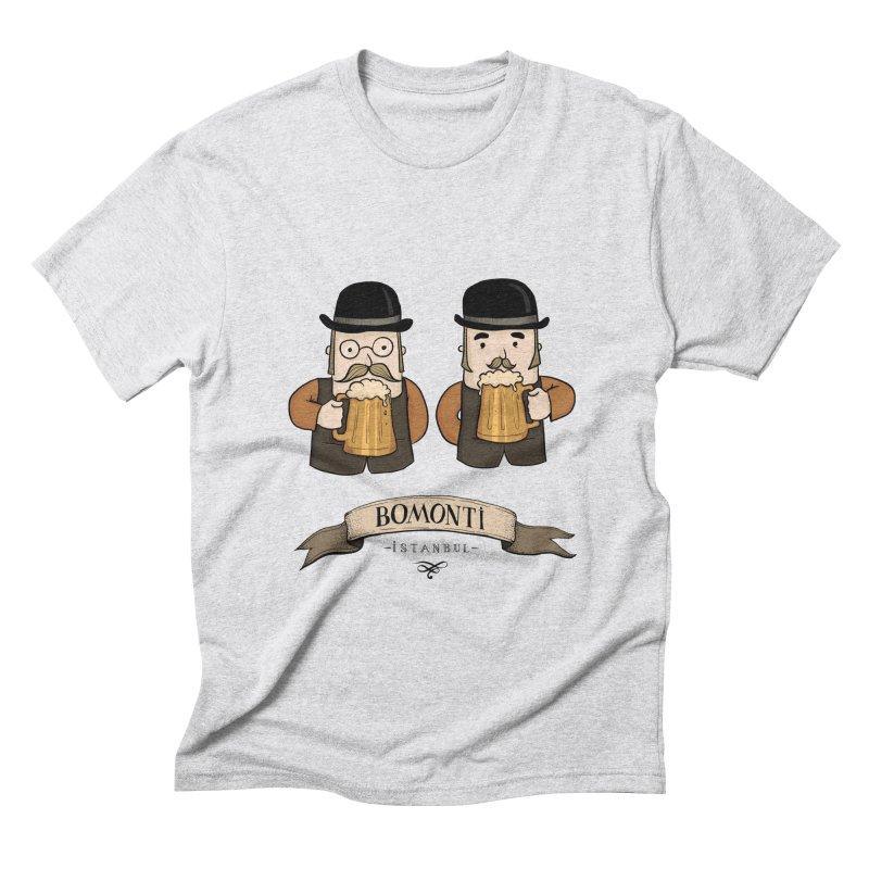 Bomonti, Istanbul Men's Triblend T-Shirt by Kürşat Ünsal's Artist Shop
