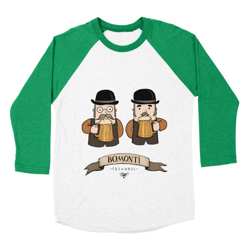 Bomonti, Istanbul Men's Baseball Triblend T-Shirt by Kürşat Ünsal's Artist Shop