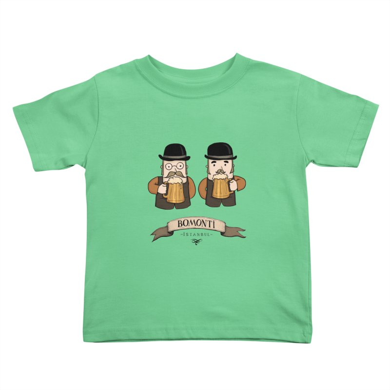 Bomonti, Istanbul Kids Toddler T-Shirt by Kürşat Ünsal's Artist Shop