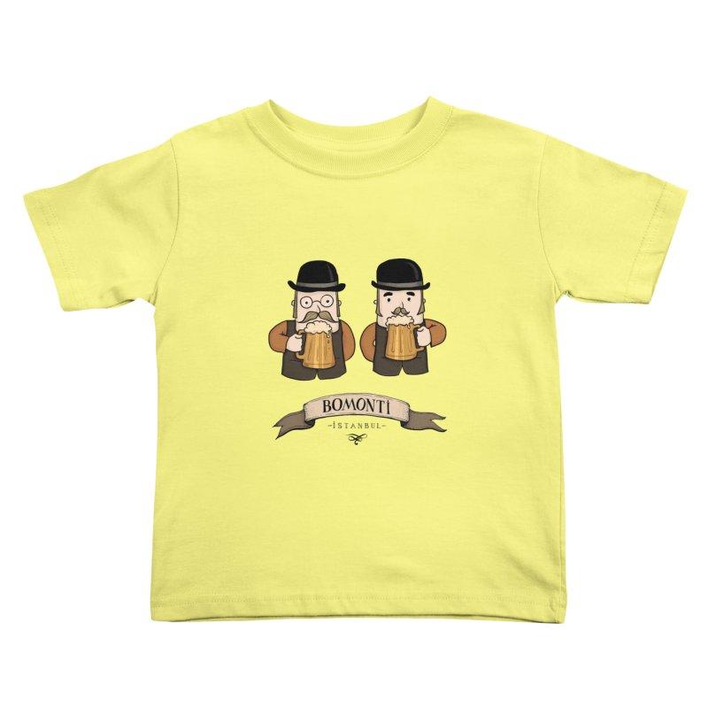 Bomonti, Istanbul Kids Toddler T-Shirt by Kürşat Ünsal's Artist Shop