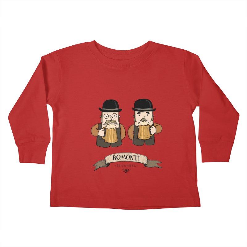 Bomonti, Istanbul Kids Toddler Longsleeve T-Shirt by Kürşat Ünsal's Artist Shop