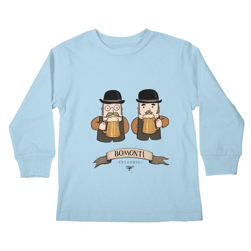 Bomonti, Istanbul Kids Longsleeve T-Shirt by Kürşat Ünsal's Artist Shop