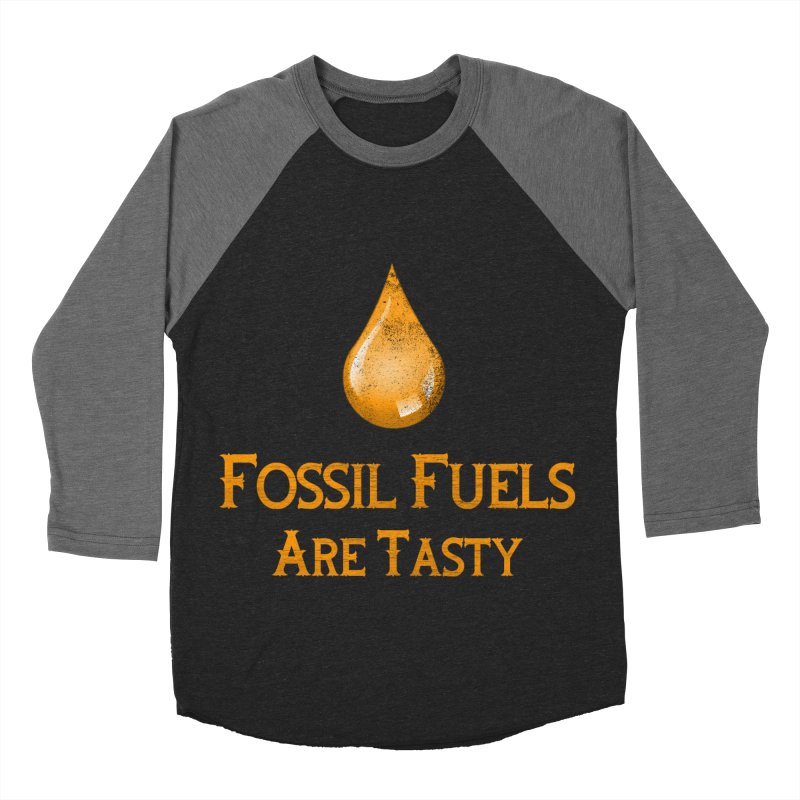 Fossil Fuels Women's Baseball Triblend T-Shirt by kustomcarphotography's Artist Shop