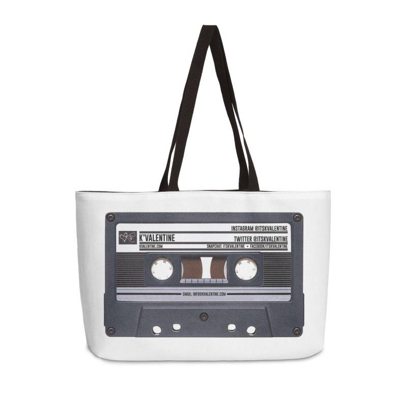 KASSETTE TIZ-APE Accessories Weekender Bag Bag by K'Valentine's Artist Shop