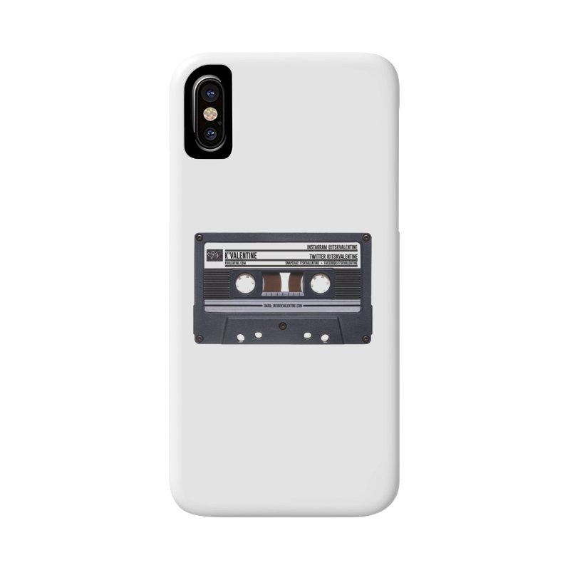 KASSETTE TIZ-APE Accessories Phone Case by K'Valentine's Artist Shop