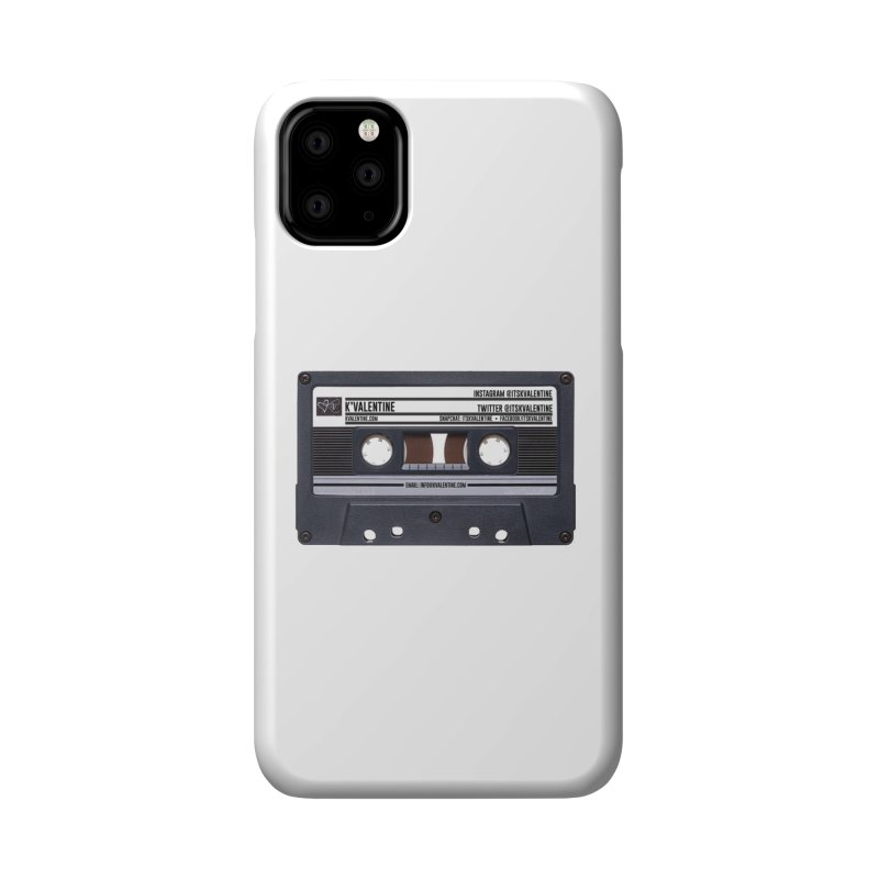 KASSETTE TIZ-APE Accessories Phone Case by K'Valentine's Artist Shop