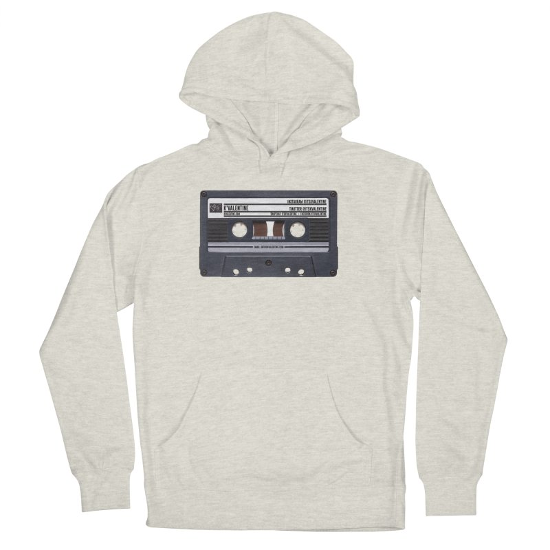 KASSETTE TIZ-APE Men's French Terry Pullover Hoody by K'Valentine's Artist Shop
