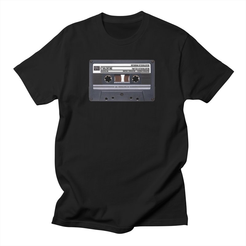 KASSETTE TIZ-APE Men's Regular T-Shirt by K'Valentine's Artist Shop