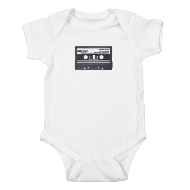 KASSETTE TIZ-APE in Kids Baby Bodysuit White by K'Valentine's Artist Shop