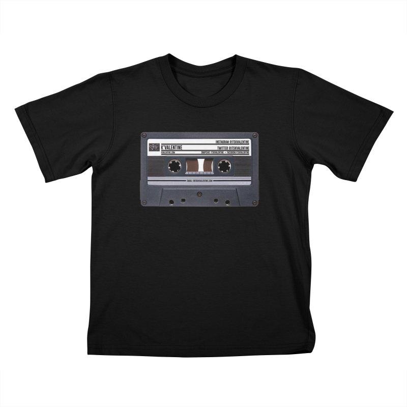 KASSETTE TIZ-APE Kids T-Shirt by K'Valentine's Artist Shop