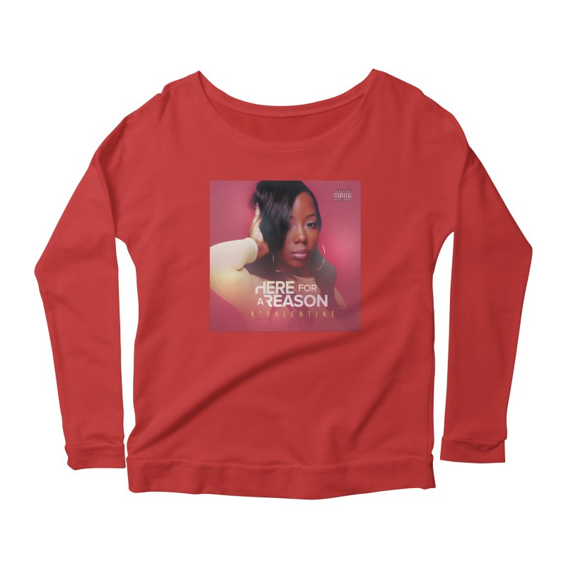 ALBUM OF EVERY YEAR Women's Scoop Neck Longsleeve T-Shirt by K'Valentine's Artist Shop
