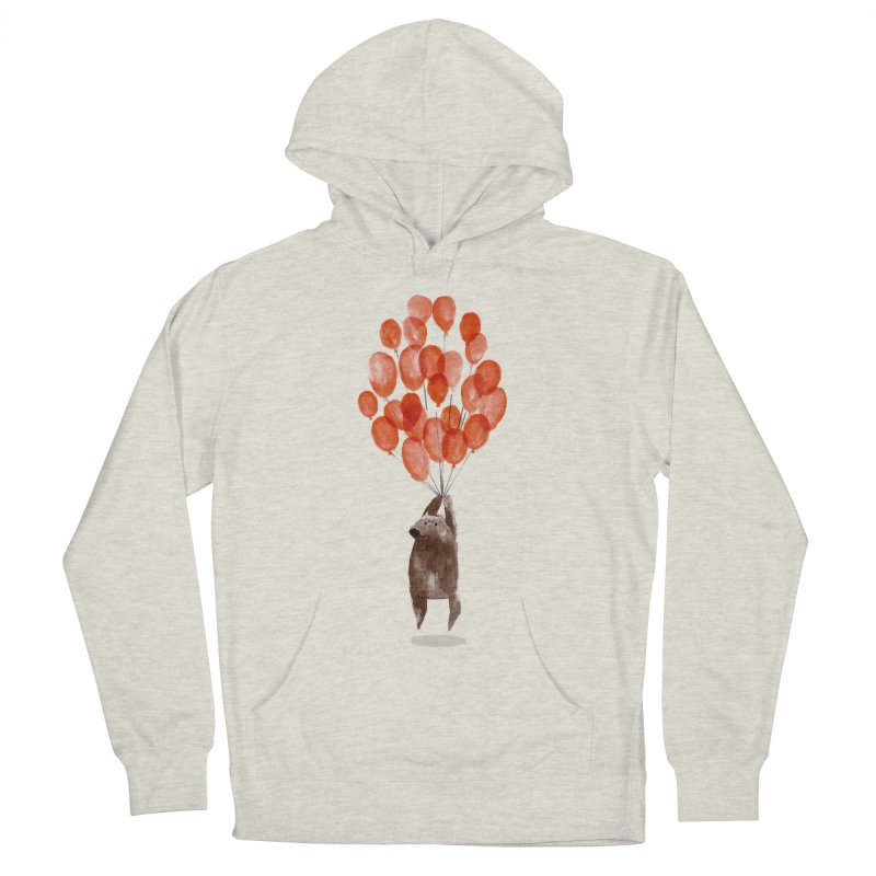 Red Balloons Men's Pullover Hoody by Ohufu