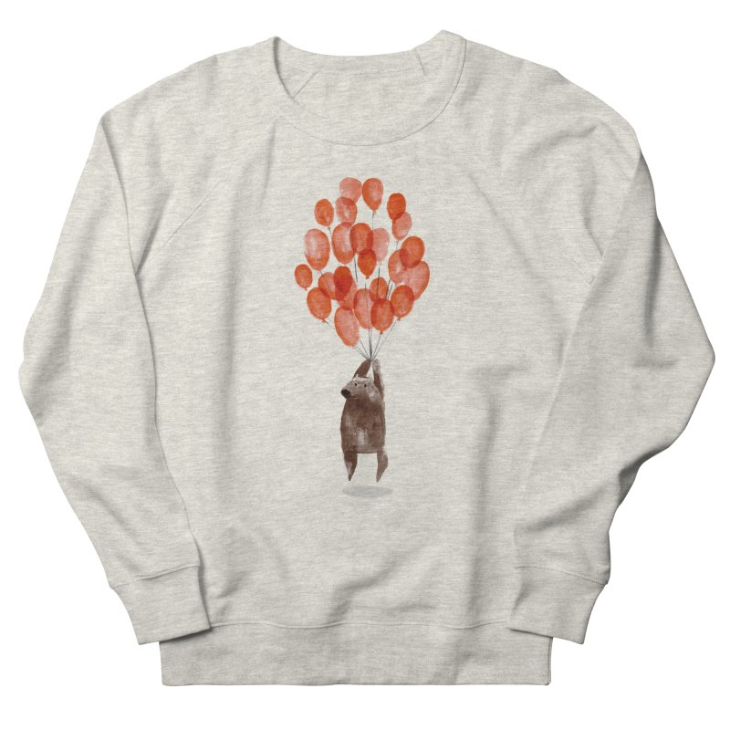 Red Balloons Women's Sweatshirt by Ohufu