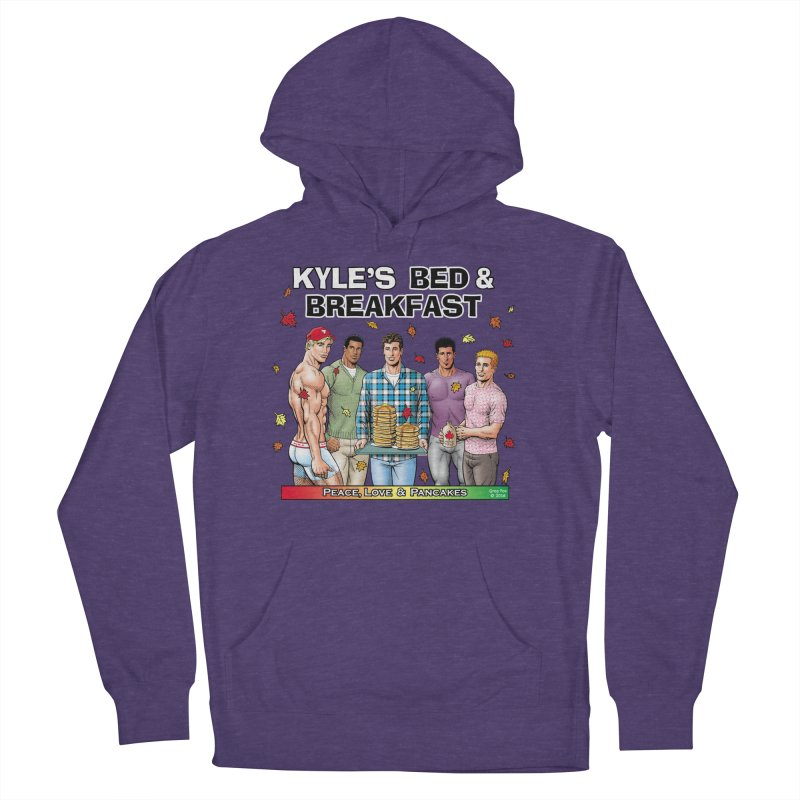 Peace, Love & Pancakes! Women's Pullover Hoody by Kyle's Bed & Breakfast Fine Clothing & Gifts Shop