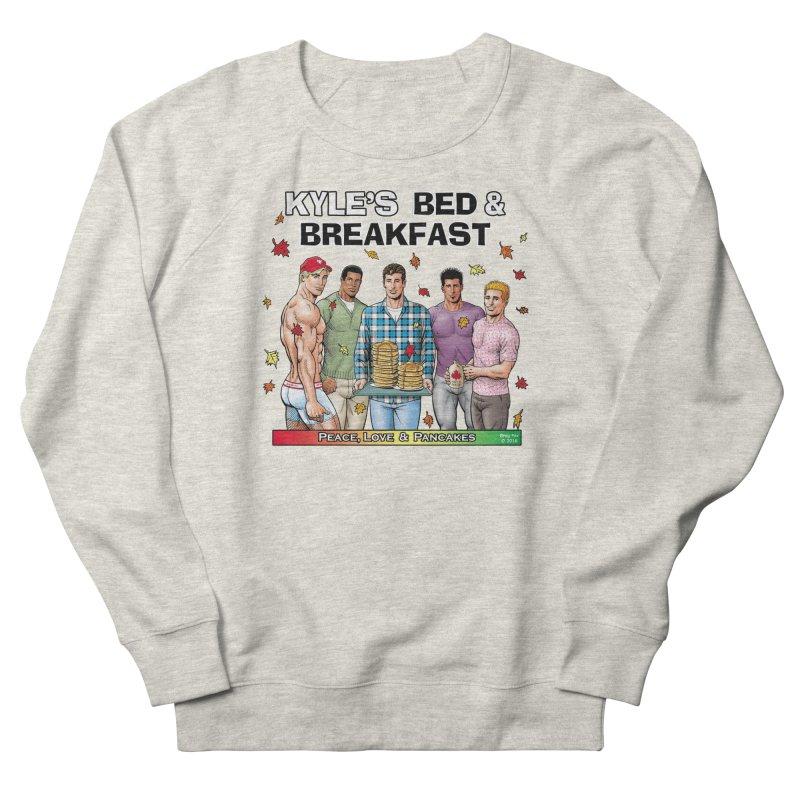 Peace, Love & Pancakes! Men's Sweatshirt by Kyle's Bed & Breakfast Fine Clothing & Gifts Shop
