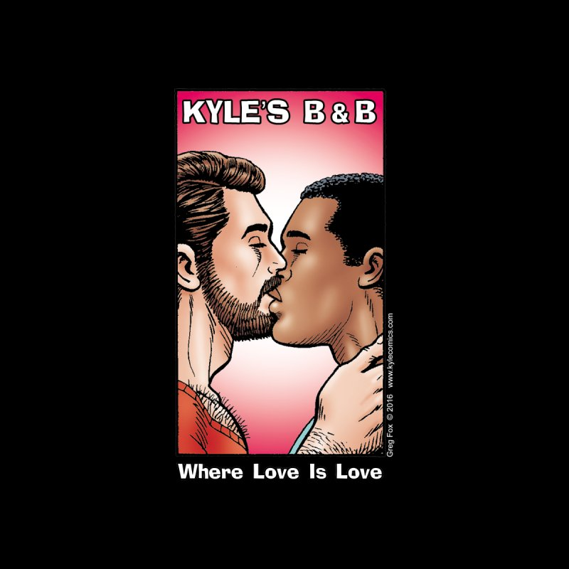 Drew & Lance - Love is Love Kids Toddler Longsleeve T-Shirt by Kyle's Bed & Breakfast Fine Clothing & Gifts Shop