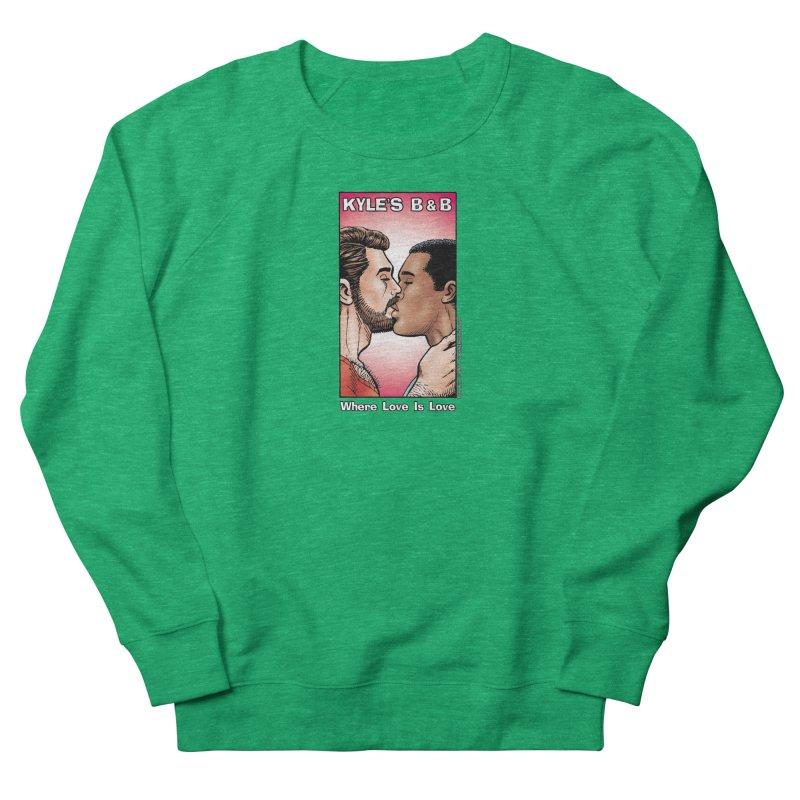 Drew & Lance - Love is Love Men's Sweatshirt by Kyle's Bed & Breakfast Fine Clothing & Gifts Shop