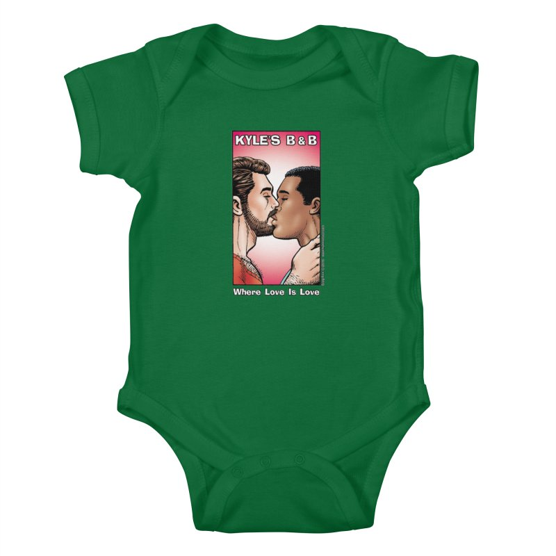 Drew & Lance - Love is Love Kids Baby Bodysuit by Kyle's Bed & Breakfast Fine Clothing & Gifts Shop