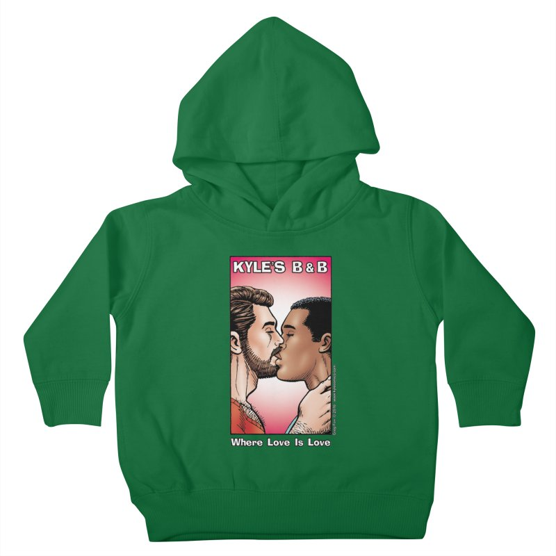 Drew & Lance - Love is Love Kids Toddler Pullover Hoody by Kyle's Bed & Breakfast Fine Clothing & Gifts Shop