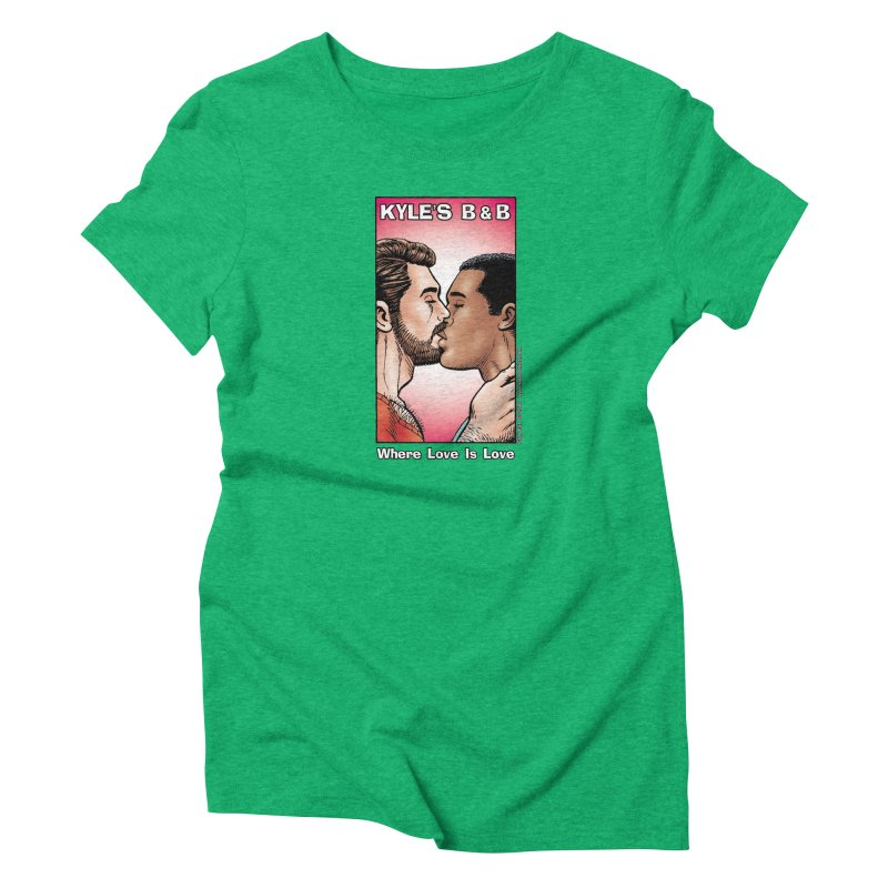 Drew & Lance - Love is Love Women's Triblend T-shirt by Kyle's Bed & Breakfast Fine Clothing & Gifts Shop